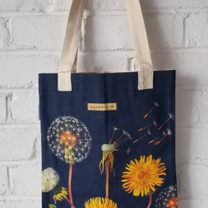 Dandelion Canvas Tote Bag
