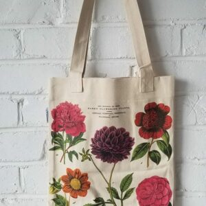 Hardy Flowering Plants Canvas Tote Bag