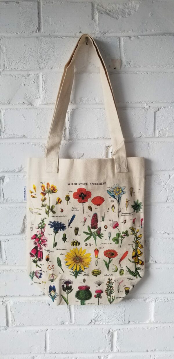 Wildflower Specimens Tote Bag